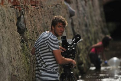 портрет оператора, Фотостудия - рекламная съемка - fotostep.ru