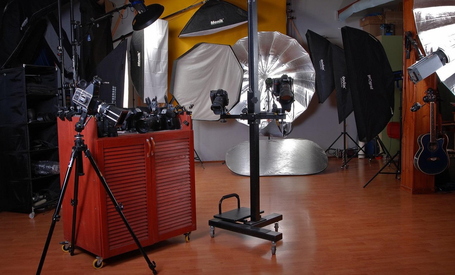 фотостудия ,аппаратура, софтбоксы, камеры