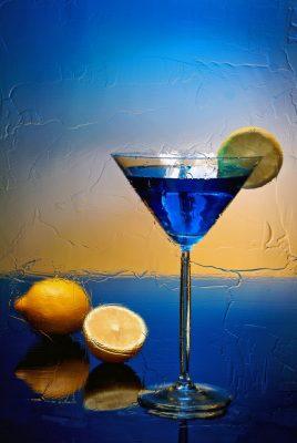 коктейль с лимоном