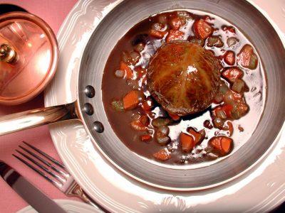 трюфель с овощами