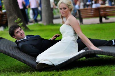 жениж с невестой