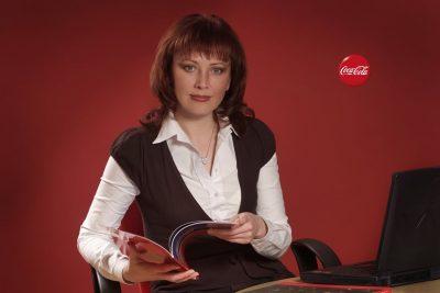 офисные съемки, кока-кола coca-cola