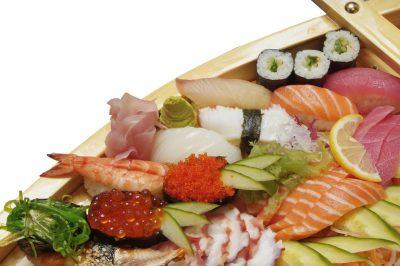суши ,осьминог