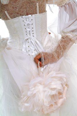 свадебное платье сумочка