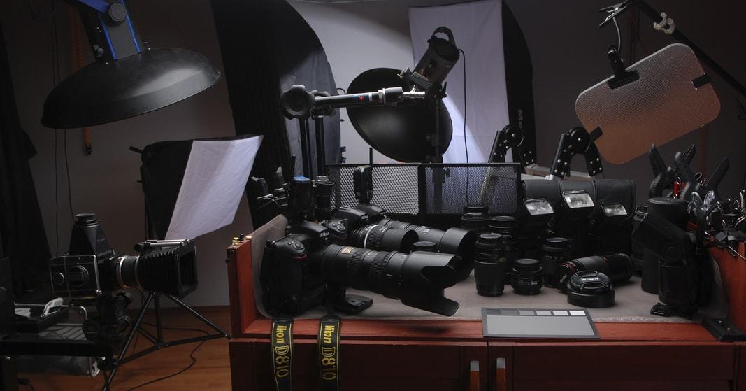 профессиональный фотограф - аппаратура